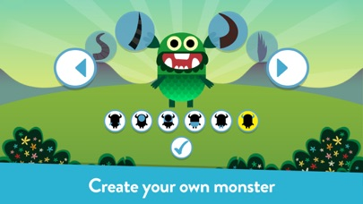 Screenshot for Teach Your Monster to Read in United States App Store