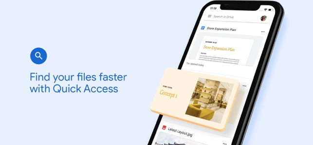 download photos from google drive to iphone