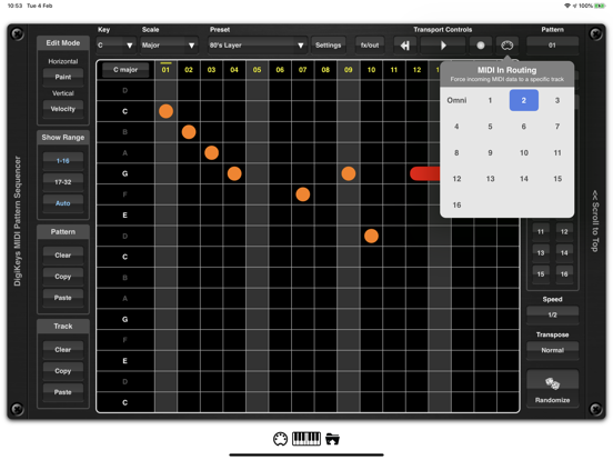 DigiKeys AUv3 Sequencer Plugin screenshot 9