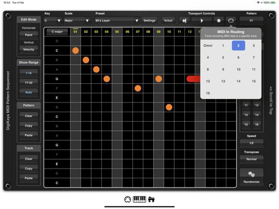 DigiKeys AUv3 Sequencer Plugin screenshot 9