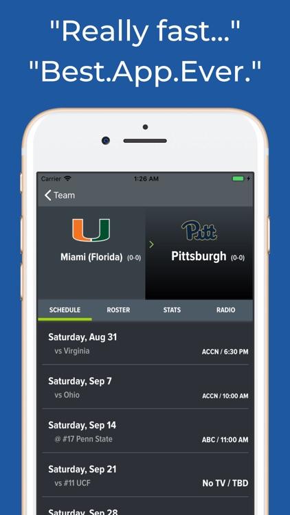 Miami Hurricanes Football screenshot-8