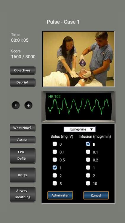ECG Rhythms and ACLS Cases screenshot-7