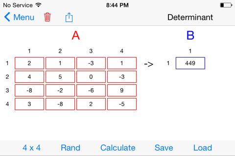 MatrixAlgebra - náhled