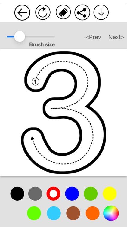 ABC Alphabet & Number Coloring screenshot-3