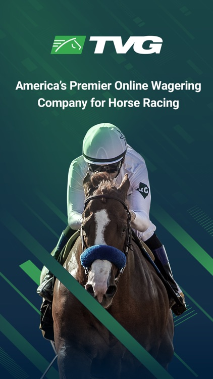 TVG - Horse Racing Betting App screenshot-0