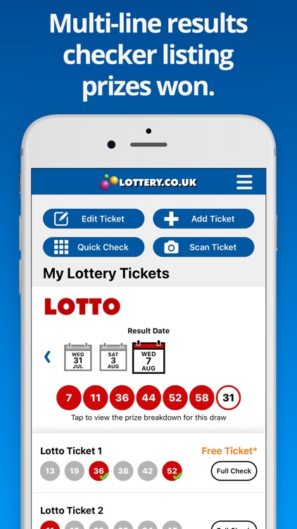 National Lottery Results screenshot-3