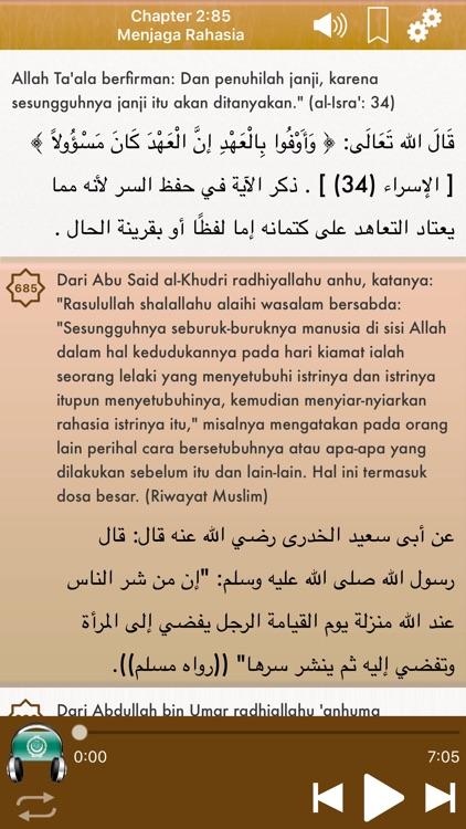 Indonesian Riyad Salihin Audio screenshot-3
