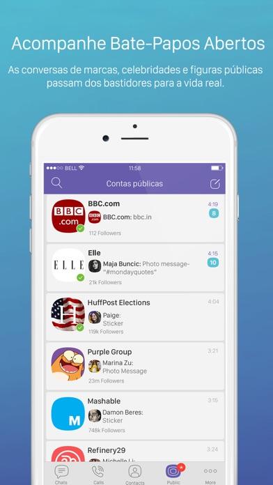 Screenshot for Viber Messenger in Brazil App Store