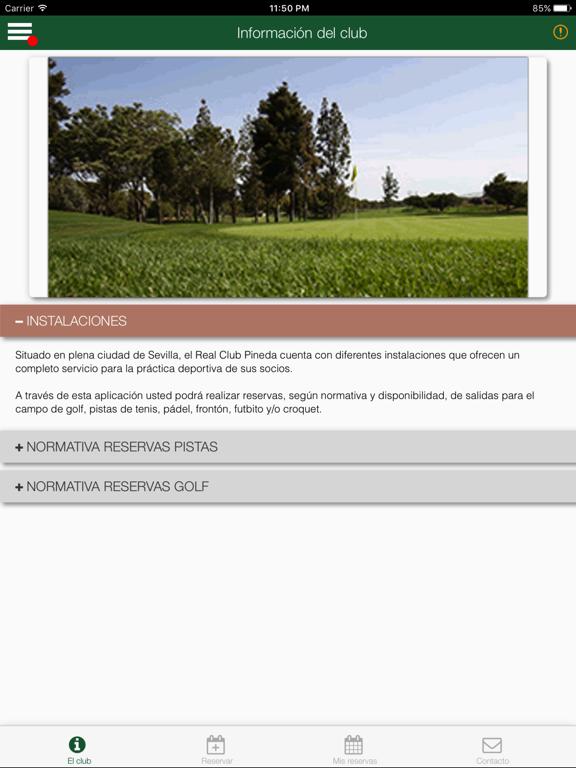 RCPineda Reserva screenshot 6