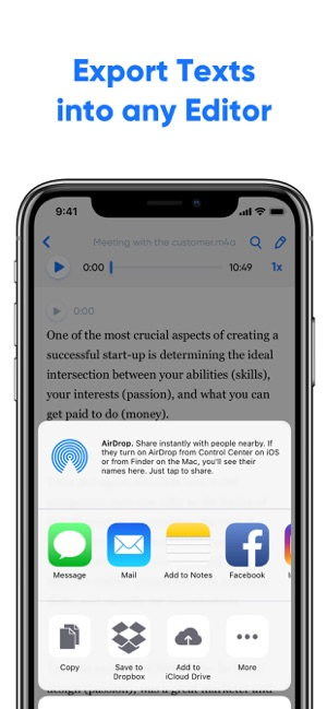 Transcribe - Speech to Text on the App Store