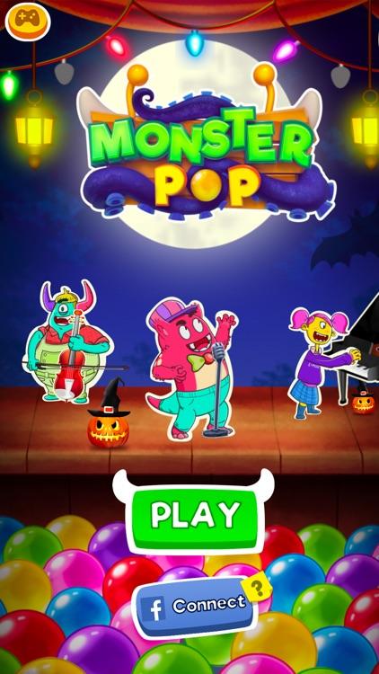 Halloween Games - Monster Pop
