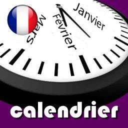 Calendrier 2019 Fériés France