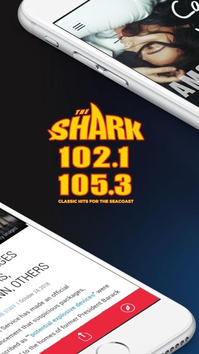 102.1 & 105.3 The Shark Radio screenshot two