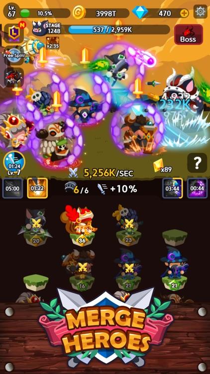 Merge Heroes Frontier screenshot-7