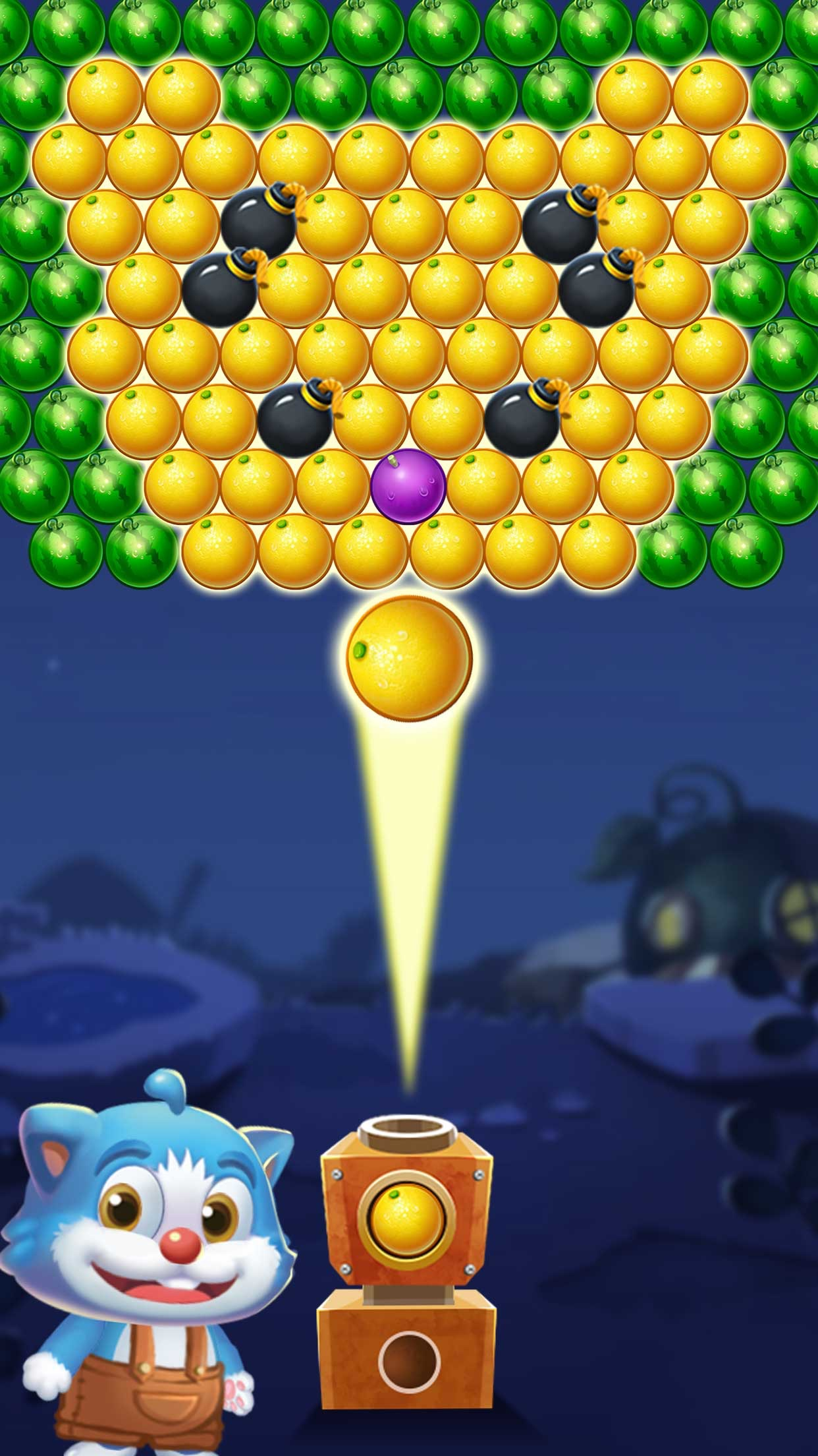 Shoot Ball Fruit Splash Screenshot
