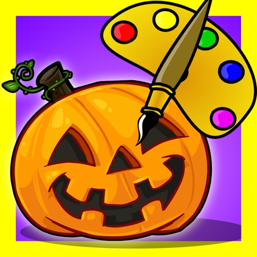 Color Objects Halloween icon