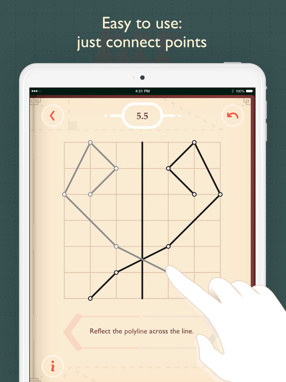 Pythagorea: Geometry on Squared Paper screenshot