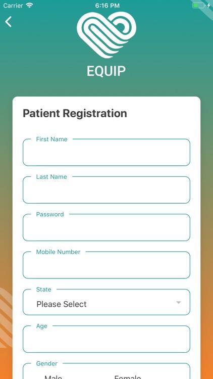 EQUIP - Patient App
