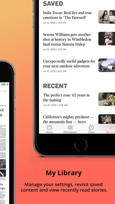 LA Times Screenshot