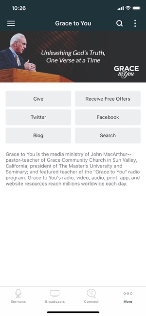 Grace to You Sermons on the App Store