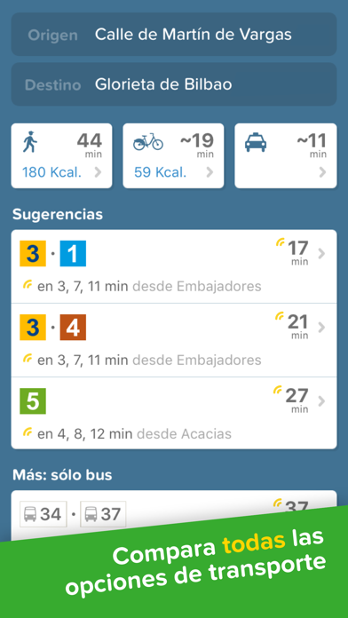 Screenshot for Citymapper in Spain App Store