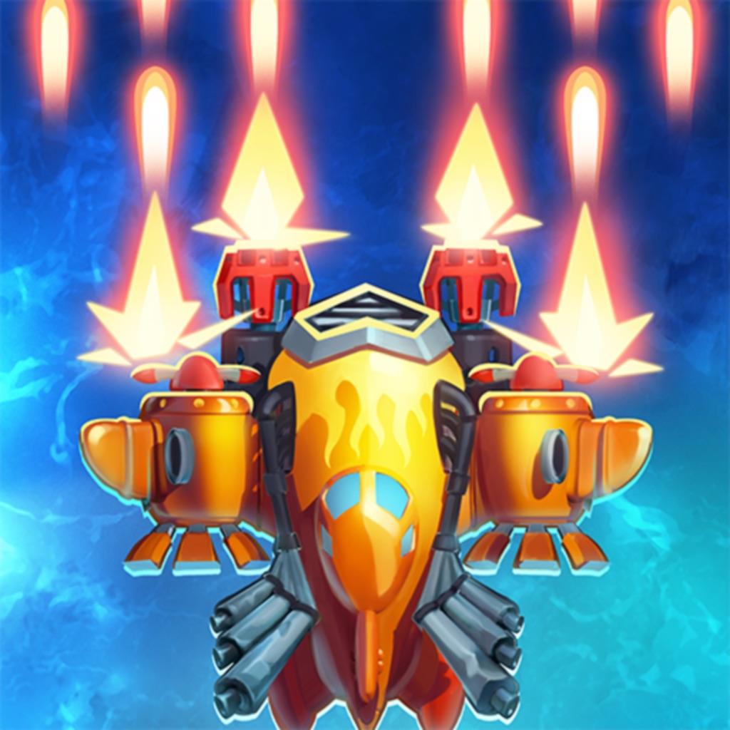 HAWK:طائرات حربية، لعبة الفضاء