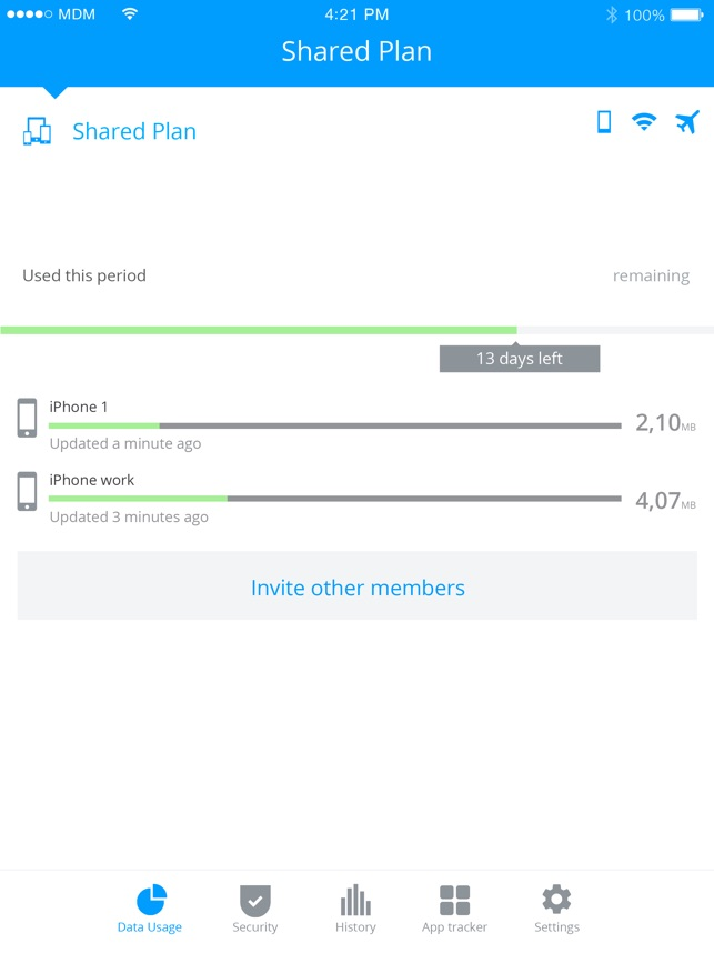My Data Manager VPN Security on the App Store