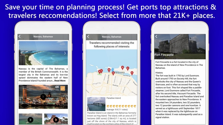 Cruise Itinerary App. CruiseBe screenshot-4