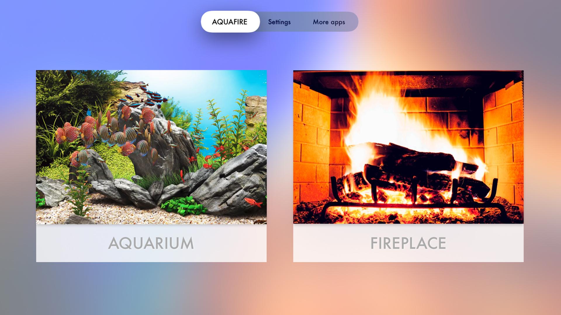 Aquarium TV Screen screenshot 1