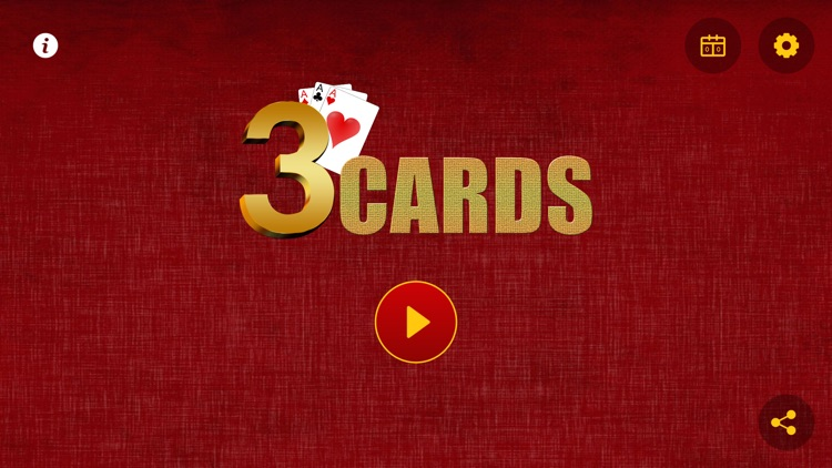 3 Cards Game screenshot-1