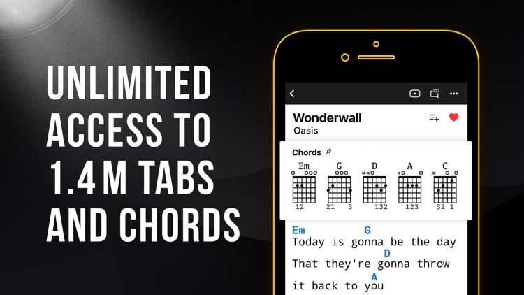 Ultimate Guitar: Chords & Tabs screenshot-0