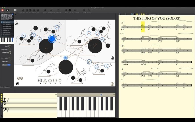 Screenshot #3 pour Mapping Tonal Harmony Pro