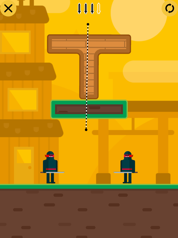 Mr Ninja - Slicey Puzzles screenshot 7