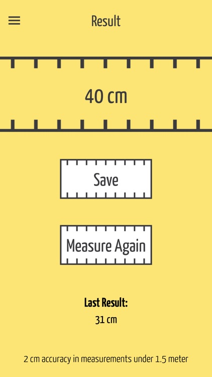 SizeUp - a Smart Tape Measure