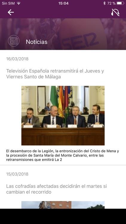 SER+COFRADE S. Santa de Málaga screenshot-3