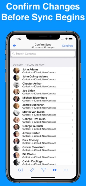 ‎Contacts Mover Pro