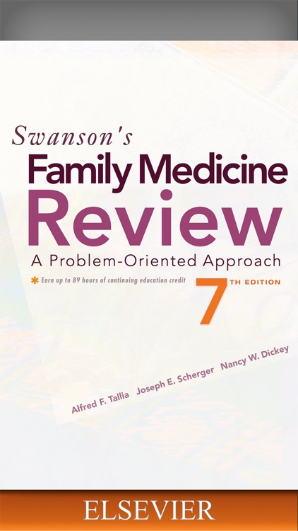 Swanson's Family Med Review 7E screenshot-0