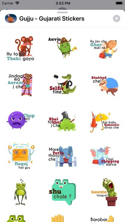 Gujju - Gujarati Stickers