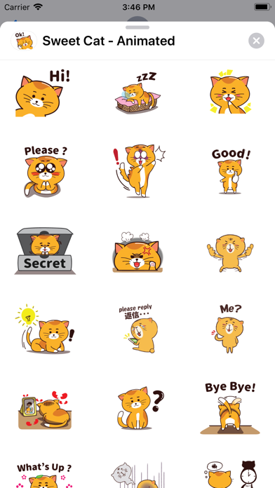 Sweet Cat - Animated screenshot 4
