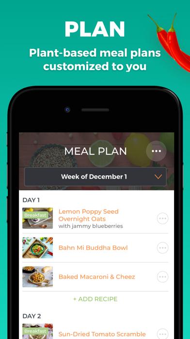 Forks Meal Planner screenshot 1
