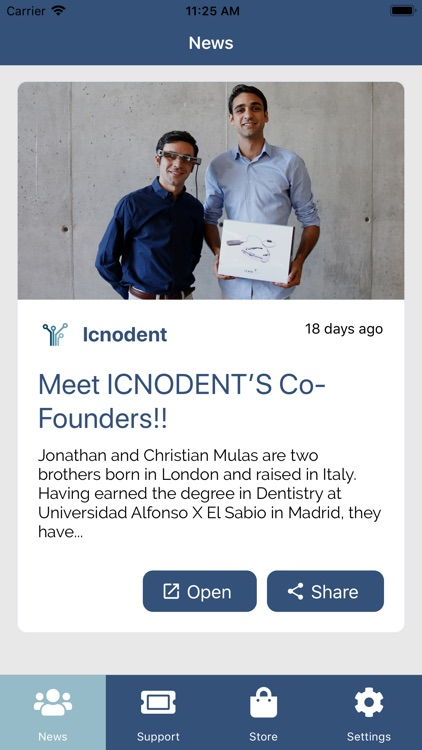 Icnodent Communication