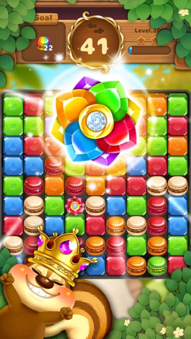 Jewels Garden : Blast Puzzle screenshot 3