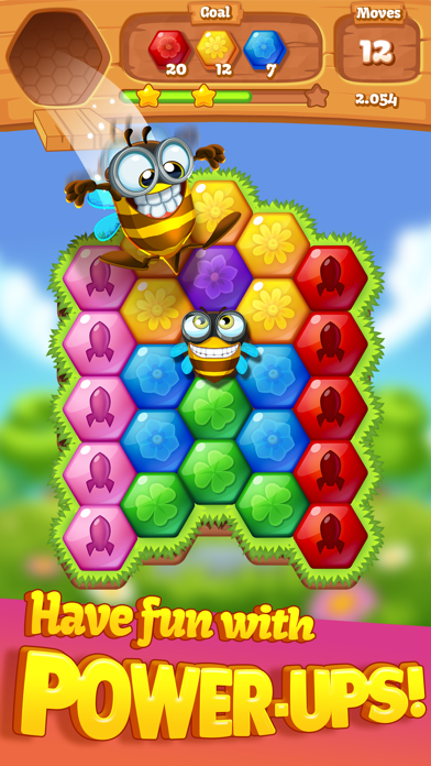 Bee Brilliant Blast Screenshot