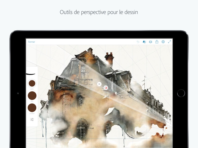 Adobe Photoshop Sketch Capture d'écran