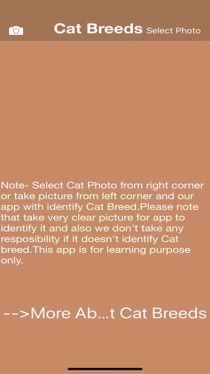 Cat Breeds - Identify your Cat screenshot-0