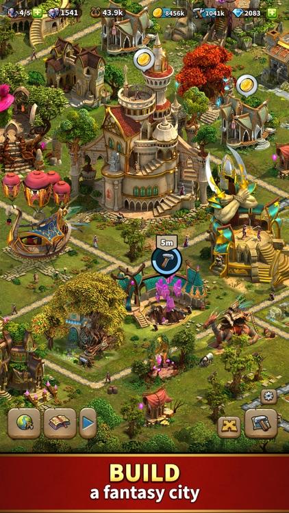 Elvenar - Fantasy Kingdom screenshot-0