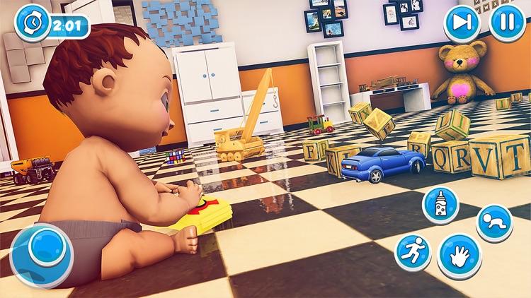 Dream Family Sim - Junior Baby screenshot-4