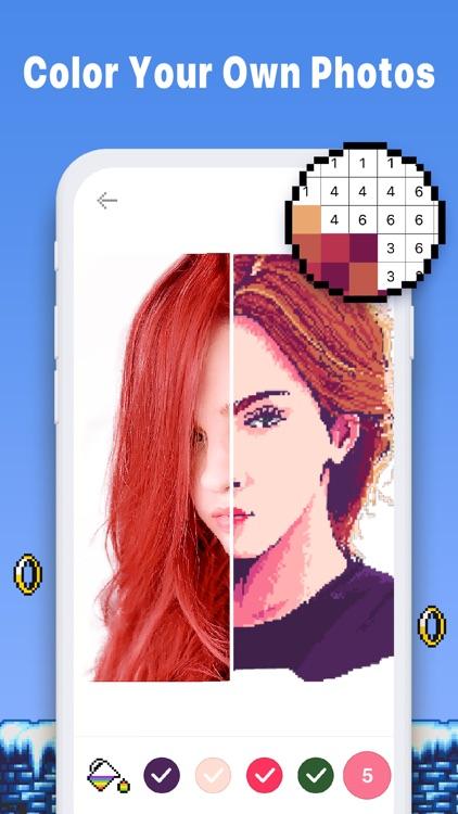 Pixel Art Color Book - Pix.num