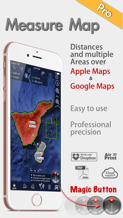 Measure Map Pro review screenshots