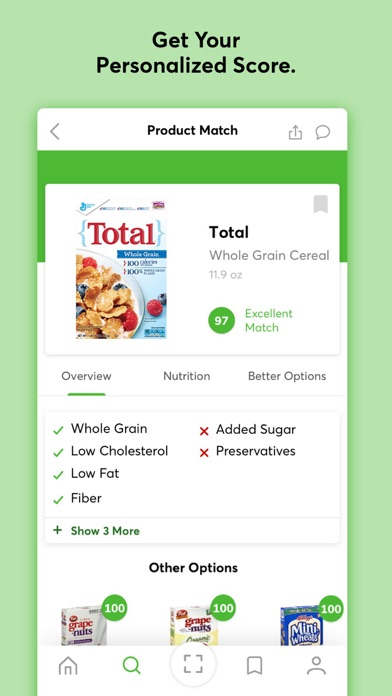 ShopWell - Healthy Diet & Grocery Food Scanner screenshot